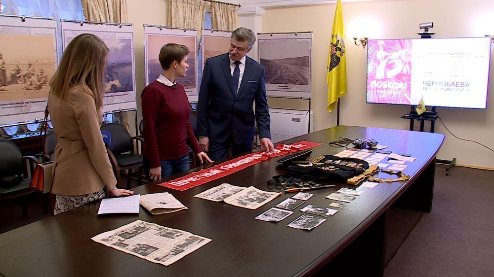 В Севастопольский военно-исторический музей передали вещи воина, освобождавшего город в 1944-м