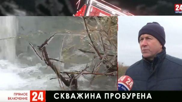 Решили водную проблему села: в Советском районе пробурили новую скважину
