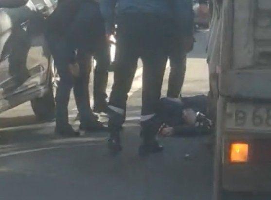 Симферополе грузовик сбил женщину