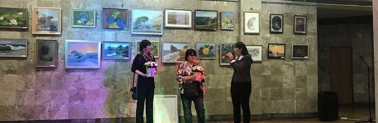 В Ялтинском центре культуры открылась выставка картин