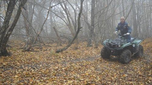 Спасатели Крыма патрулируют горно-лесную зону полуострова
