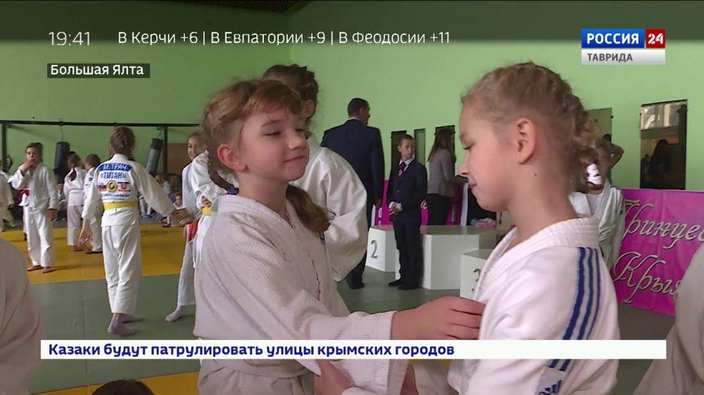 «Принцесса Крыма»: в Крыму прошел женский турнир по дзюдо