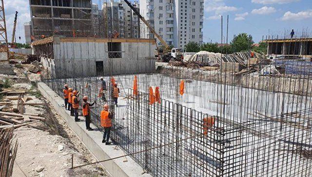 В Симферополе выявили нарушения при строительстве дома для сирот