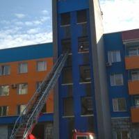 В Ялте прошли состязания на звание среди пожарных расчетов ФПС