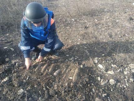 И меньше не становится… В Крыму ликвидировали очередные 10 боеприпасов времен ВОВ