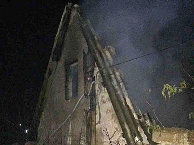 При пожаре в дачном домике погиб мужчина