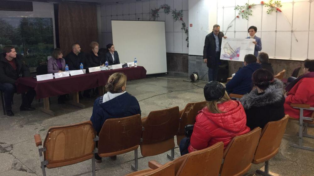 В пгт.Щебетовка обсудили вопросы планировки территории квартала