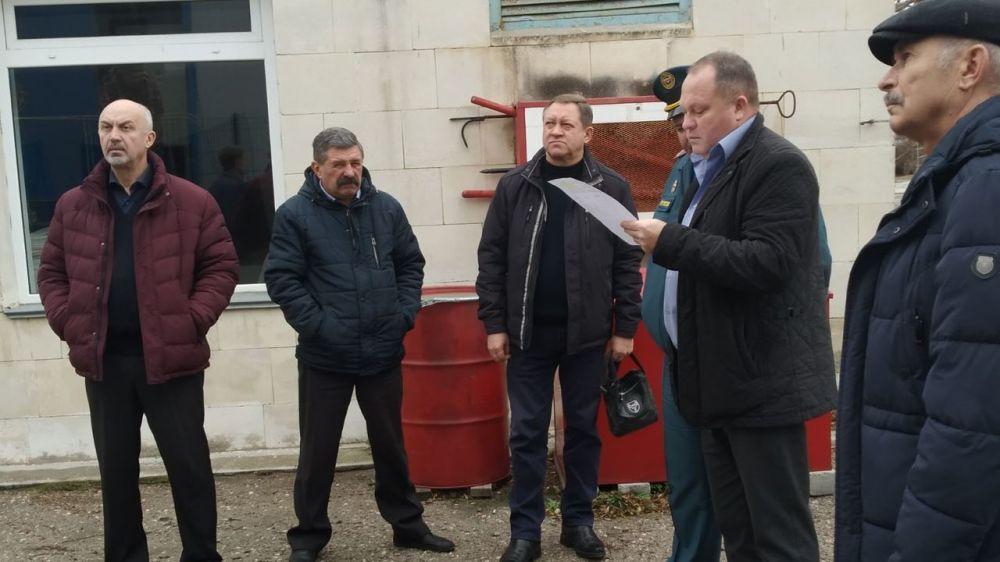 Сергей Шахов: Рабочая группа оценила готовность социально-значимых объектов к сезонным рискам в городском округе Евпатория