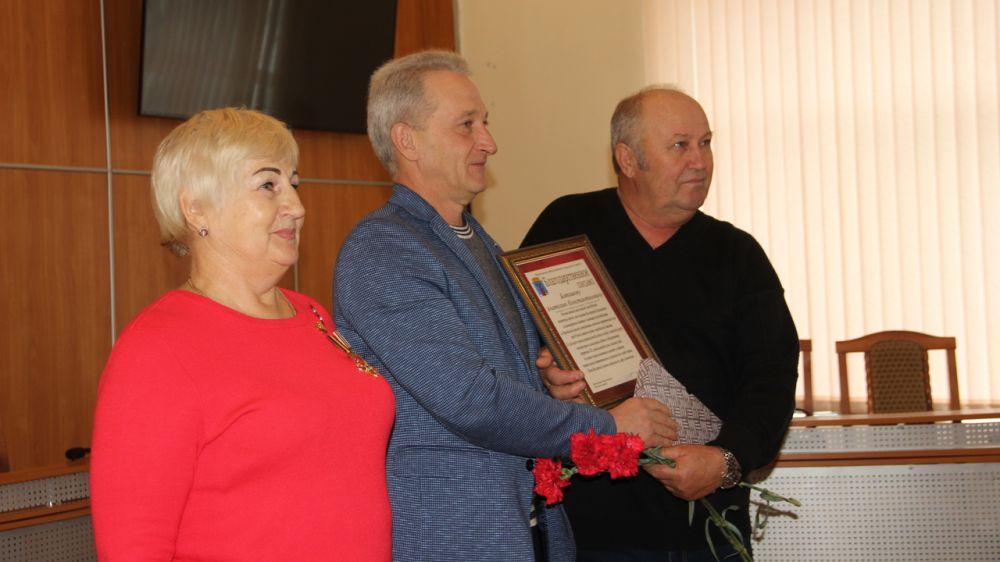 В Феодосии поздравили ликвидаторов аварии на Чернобыльской АЭС