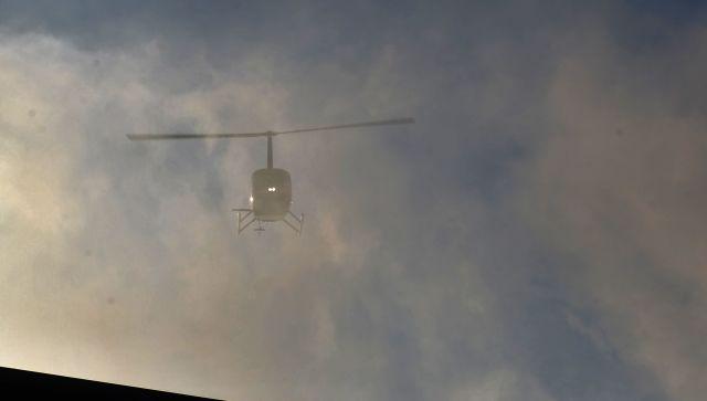 В Краснодарском крае разбился вертолет: один человек погиб