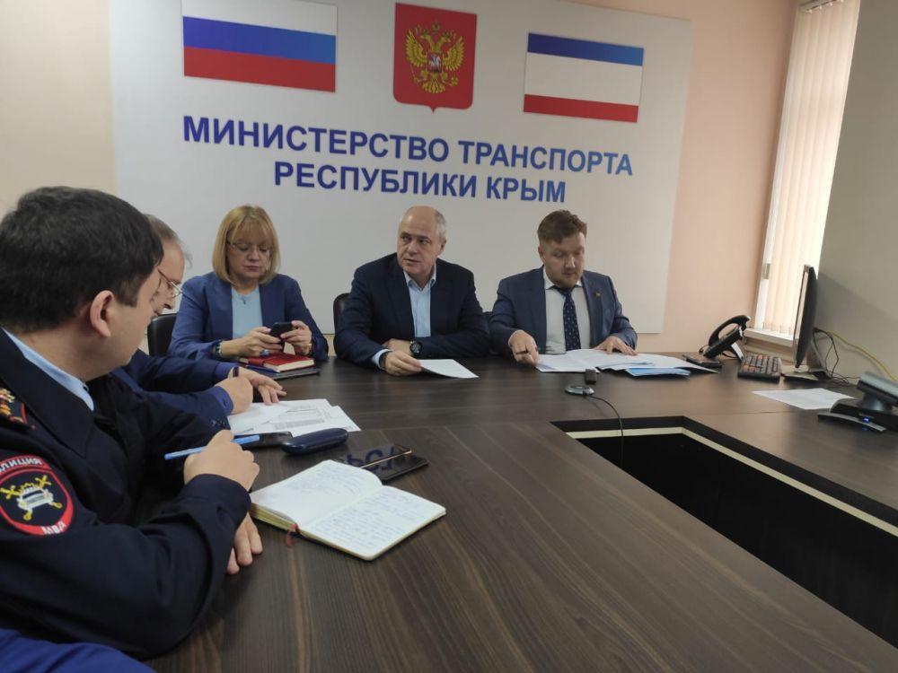 «Безопасные и качественные автомобильные дороги» обсудили в Крыму