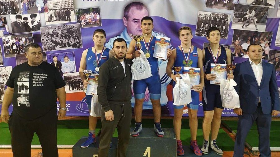 Алуштинский борец Максим Михеев – бронзовый призер Всероссийского турнира в Сочи