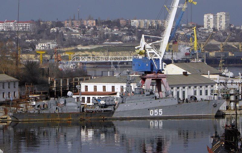 Севастопольский «13-й судоремонтный завод Черноморского флота» оборудовали плавдоками