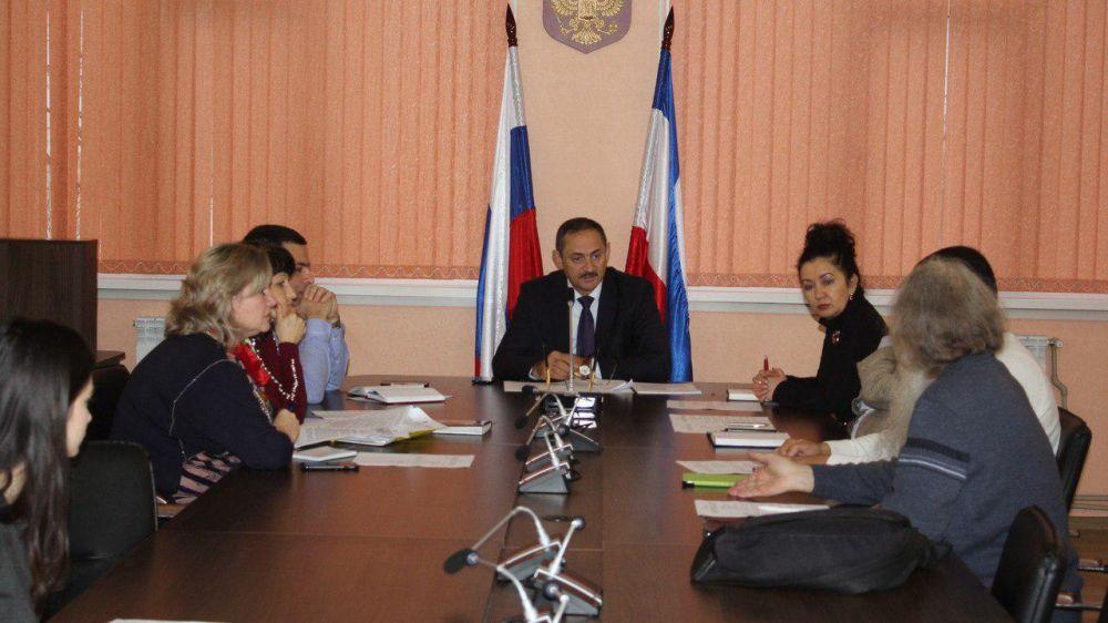 В Госкомнаце обсудили вопрос выделения помещения культурной автономии караимов