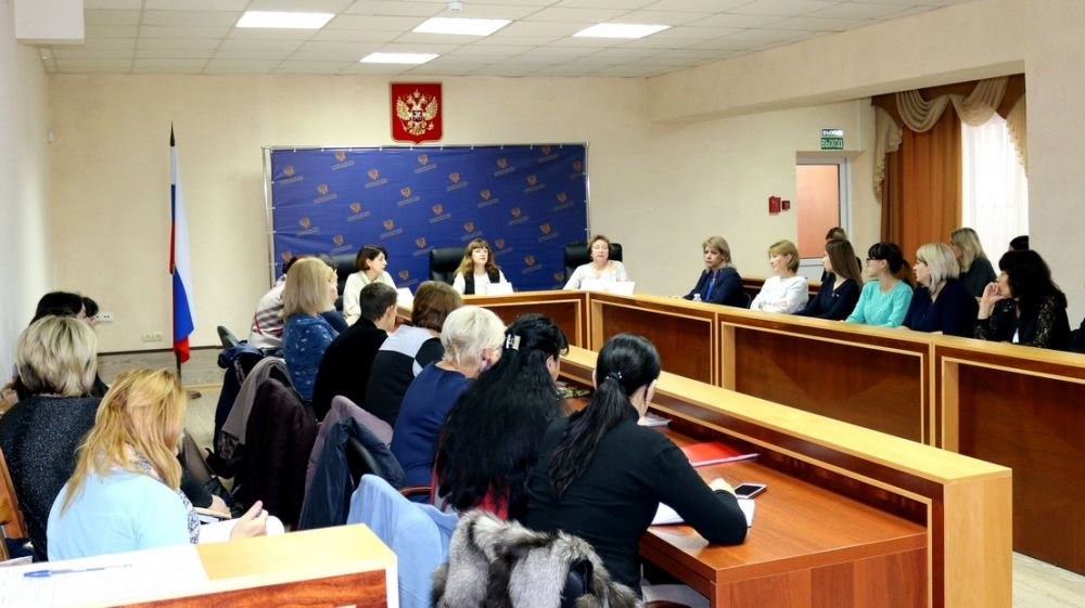 Заместители председателя Госкомархива приняли участие в совещании-семинаре с работниками судов Республики Крым