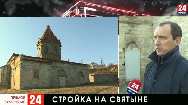 В Феодосии армянская община протестует против строительства на древнем кладбище