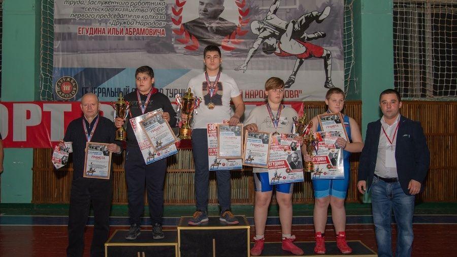 Все победители и призеры борцовского турнира памяти Ильи Егудина