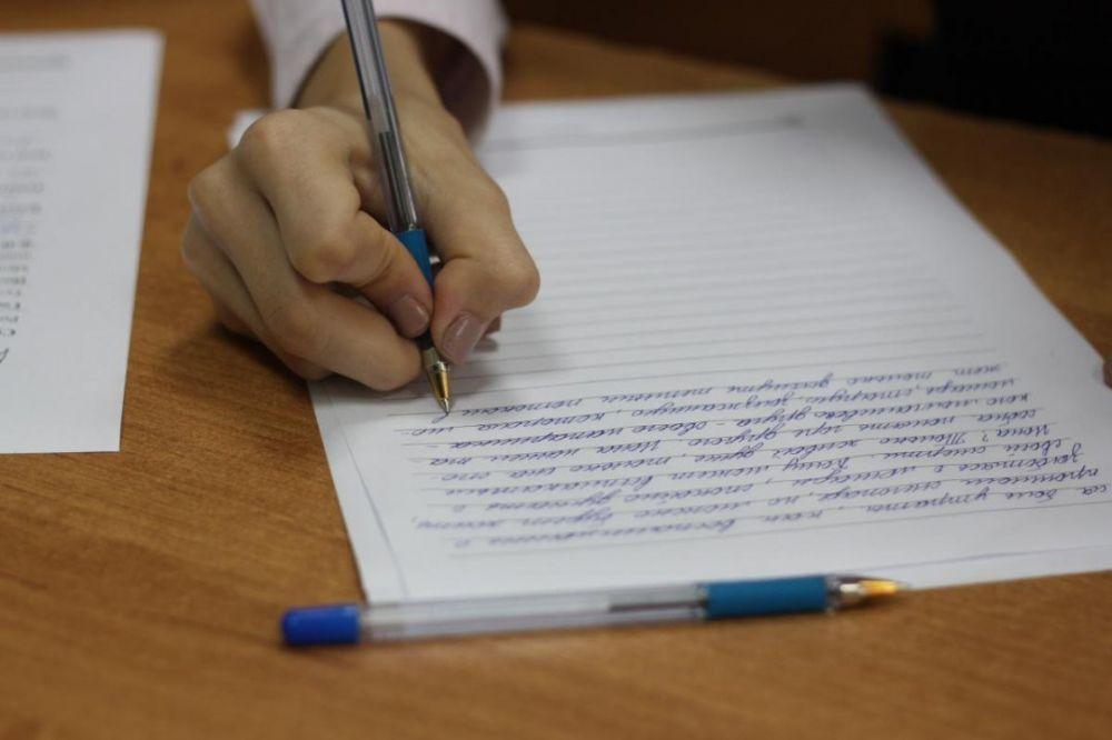 В среду одиннадцатиклассники напишут итоговое сочинение