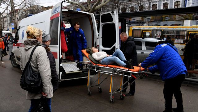 Минздрав сообщил о состоянии девушки после ДТП в центре Симферополя
