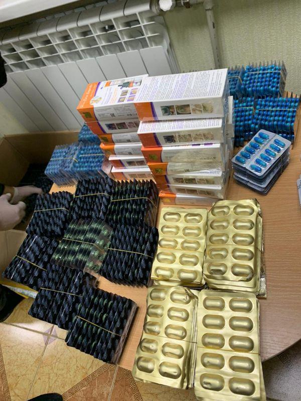 Пограничники на крымской границе задержали крупную партию фармакологических препаратов, запрещенных к ввозу в РФ