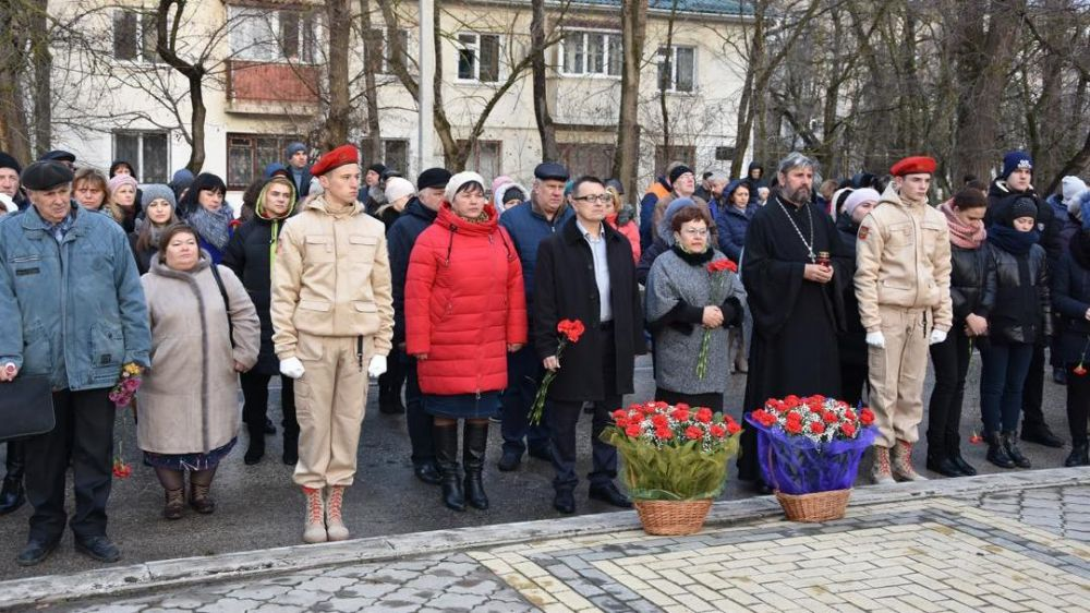 Красноперекопск отметил День Неизвестного Солдата