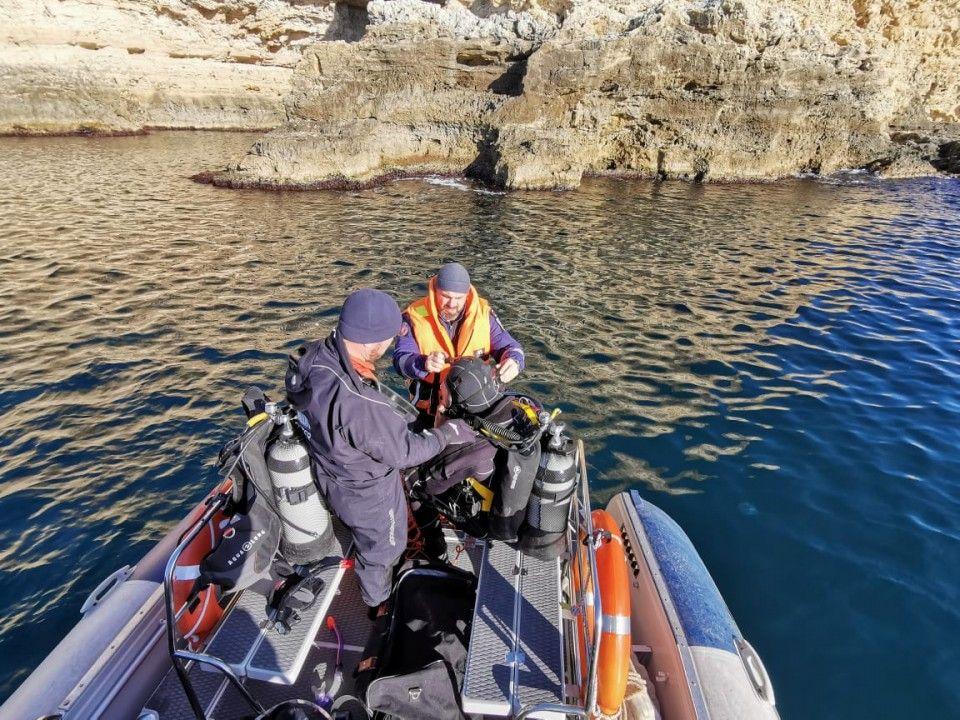 Спасатели нашли тело второго мужчины, утонувшего на мысе Фиолент