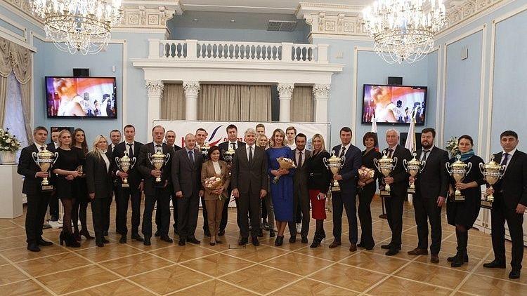 Крымские спортсмены были отмечены в Москве