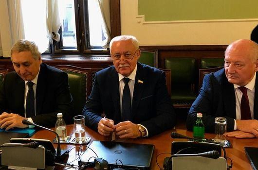Эдип Гафаров и Юрий Гемпель в составе делегации из Крыма с деловым визитом посетили Сербию