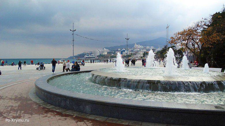 К следующему сезону на набережной Ялты появится ансамбль из семи фонтанов