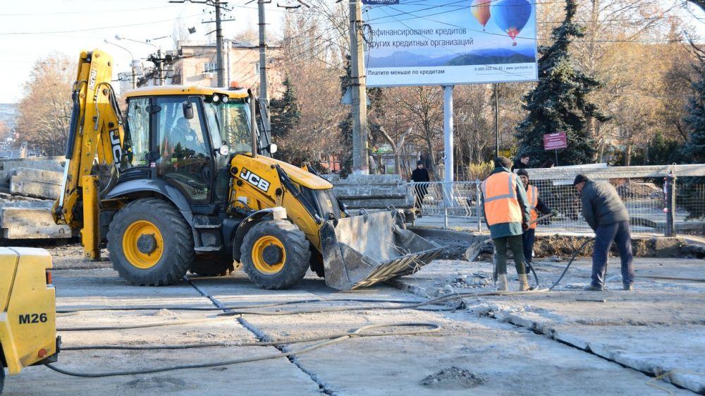 Ремонт улицы Маяковского завершат до 15 декабря