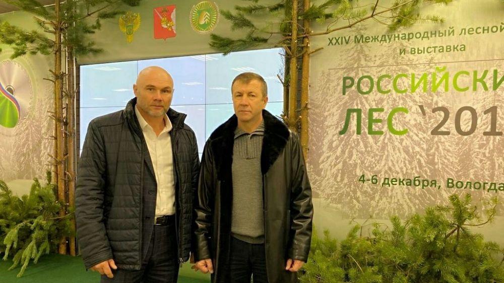 Геннадий Нараев принял участие в XXIV Международном лесном форуме и выставке «Российский лес»