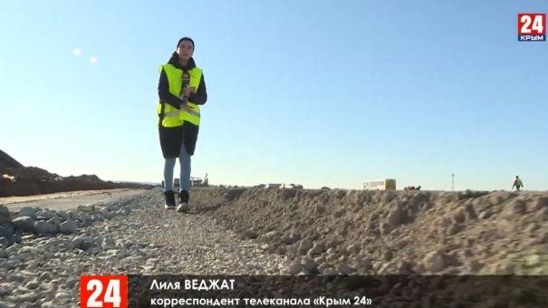 """В аэропорту """"Симферополь"""" строят новую полосу"""