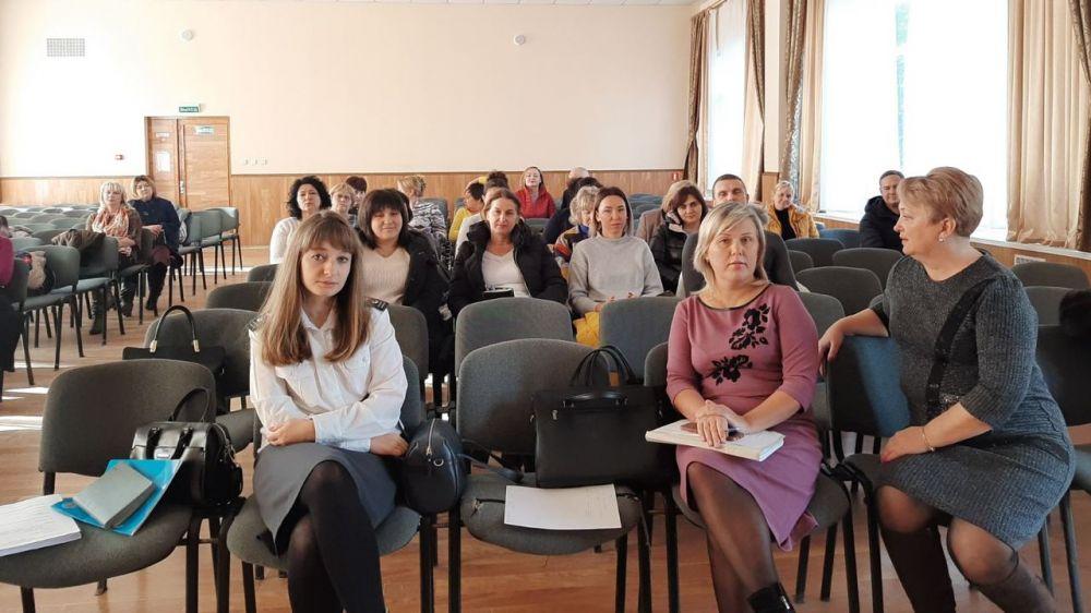 Специалисты отдела ветеринарии города Судак и Кировского района приняли участие в семинаре-совещании