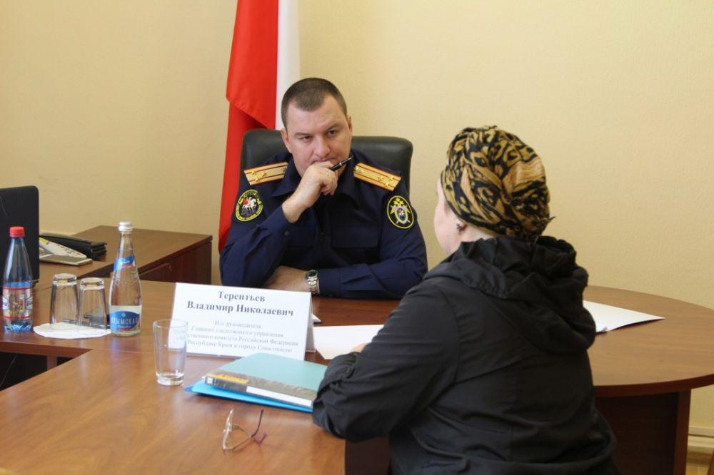 Главный следователь Крыма и Севастополя и глава МВД проведут прием граждан
