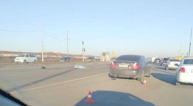 Недалеко от нового аэропорта Симферополя насмерть сбили пешехода
