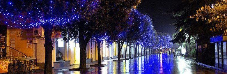На новогодние праздники центром притяжения жителей и гостей Крыма станет набережная Ялты