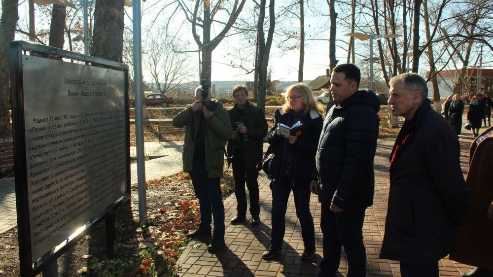 В Вилино Владимир Константинов посетил ряд объектов, встретился с жителями поселения