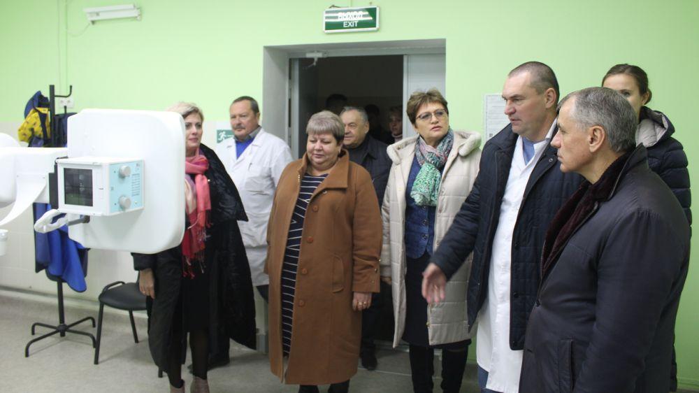 Сегодня состоялось открытие рентген кабинета в ГБУЗ РК «Бахчисарайская центральная районная больница»