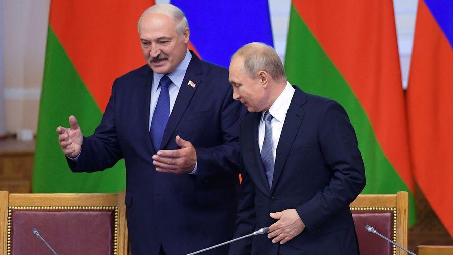 В Минске проходят незаконные митинги против интеграции с Россией