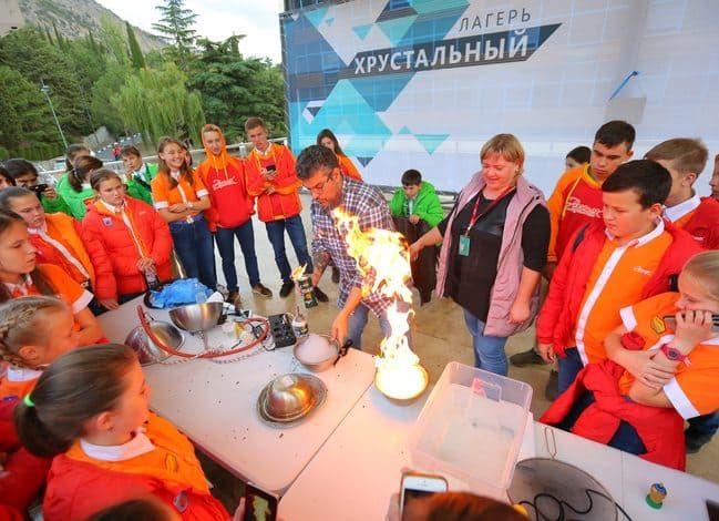 Артековский проект «Нескучная наука с «Просвещением» представлен на Всероссийском форуме «ПроеКТОриЯ»