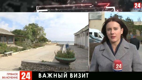 Министр здравоохранения России посетила санатории Крыма