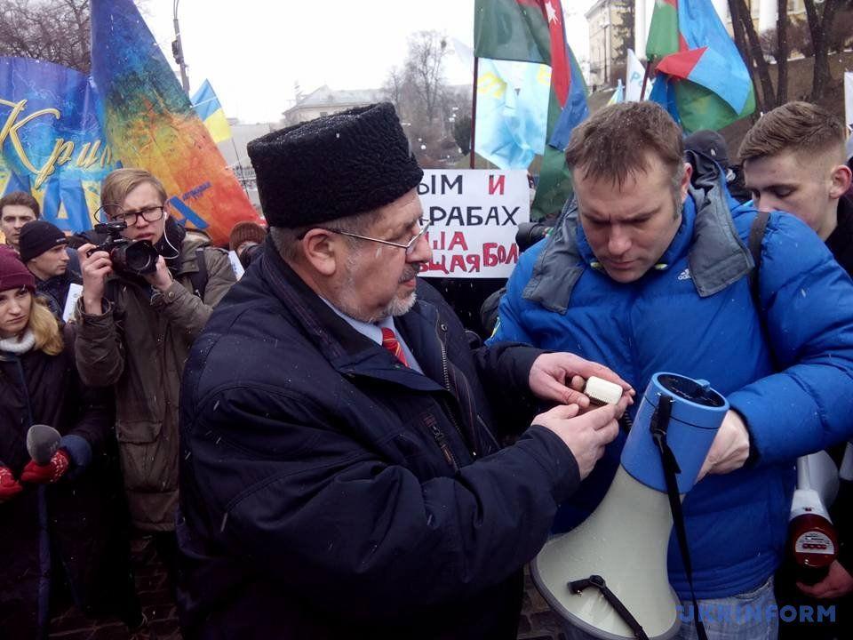 Очередной провокацией назвали в России обьявленный «украинский марш на Крым»
