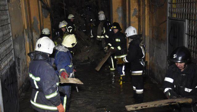 Число жертв пожара в одесском колледже экономики продолжает расти