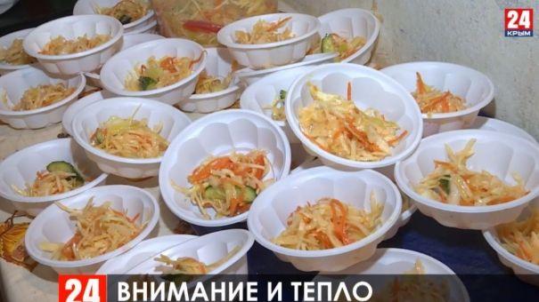 В Симферополе открыли 14 пунктов обогрева
