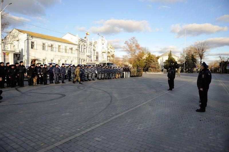 В Евпатории состоялся совместный инструктаж нарядов комплексных сил