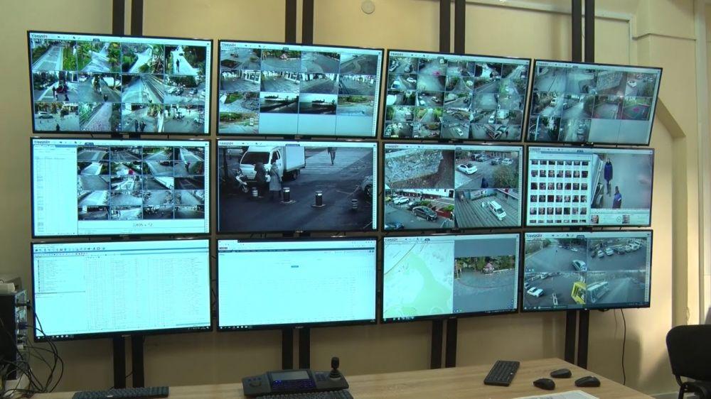 За ситуацией на улицах Ялты будут следить сотни видеокамер