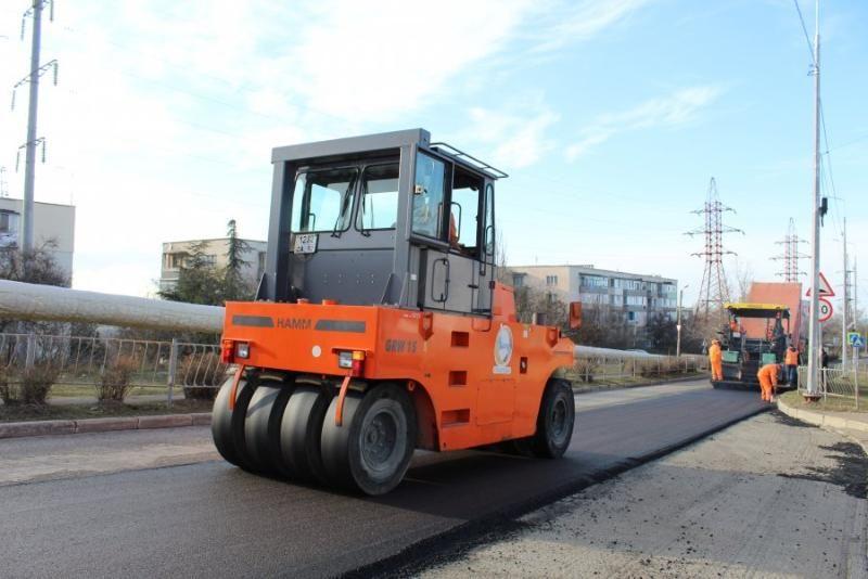 До конца года капремонт участка дороги на улице Генерала Жидилова должен быть завершен