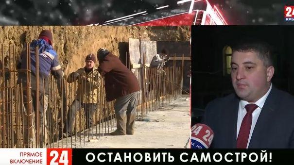 В Крыму появляется всё больше незаконных строек