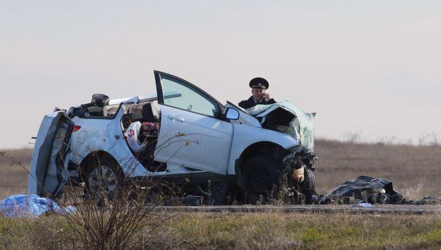 Следком возбудил уголовное дело по факту аварии в Черноморском районе