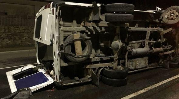 МВД опубликовало видео стрельбы по «Газели» пьяного нарушителя в Феодосии